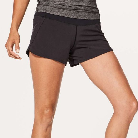 "EUC Lululemon Run Times Shorts 4"" (10)"